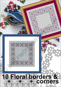 CH0366 - Floral Borders - 4.50 GBP